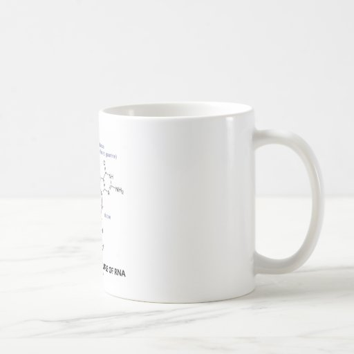 Chemical Structure Of RNA (Molecular Structure) Mugs