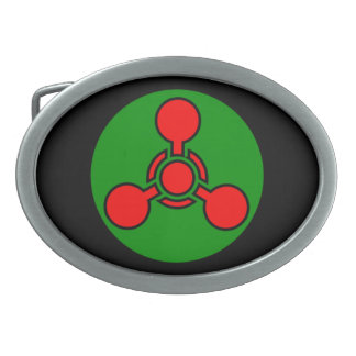 Weapons Belt Buckles | Zazzle Chemical Weapons Symbol
