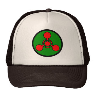 Chemical weapon symbol Hat