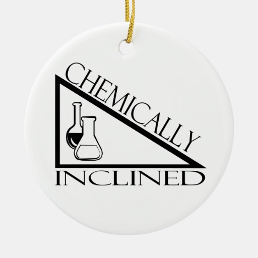 Chemically Inclined Ornament