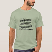 Chemicals To Avoid - Basic T-Shirt