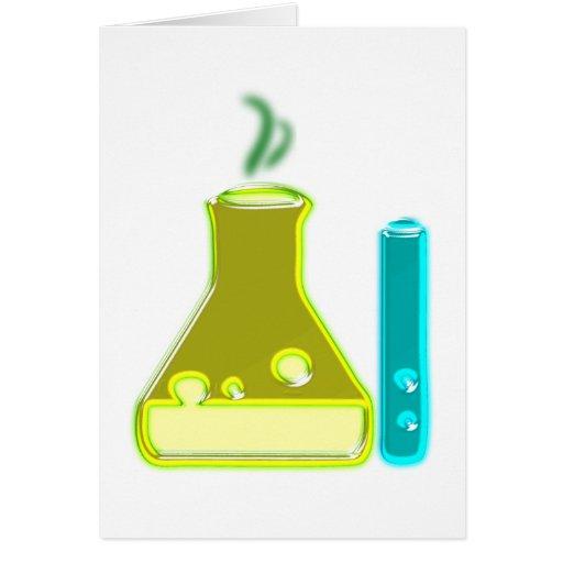 Chemie chemistry grußkarten