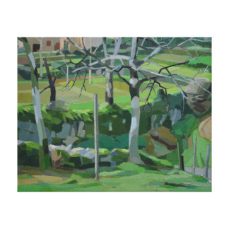 Chemin de la Fontaine Canvas Print