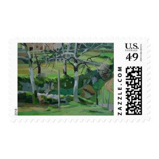 Chemin de la Fontaine Postage Stamp