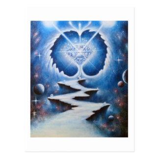 Chemin du corazón tarjetas postales