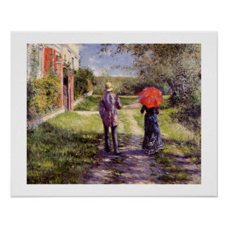 Chemin montant by Gustave Caillebotte Print