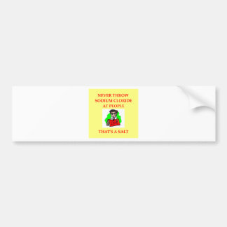 CHEMIST2 png Bumper Sticker