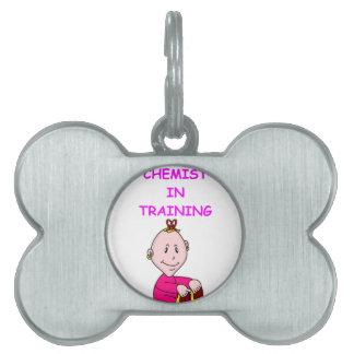 CHEMIST baby Pet ID Tag