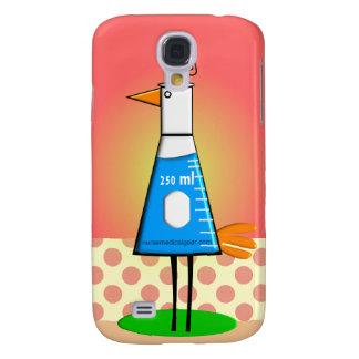 "Chemist ""Beeker Bird"" Gifts Samsung Galaxy S4 Covers"