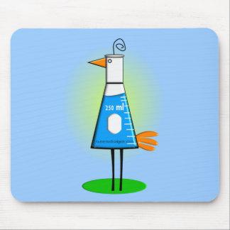 """Chemist """"Beeker Bird"""" Gifts Mousepads"""