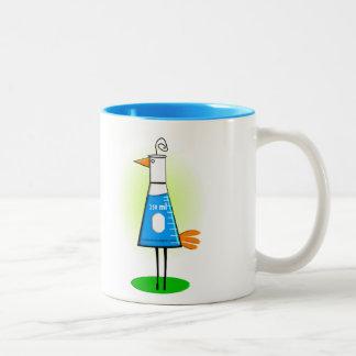 "Chemist ""Beeker Bird"" Gifts Mugs"
