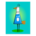 "Chemist ""Beeker Bird"" Gifts Postcards"