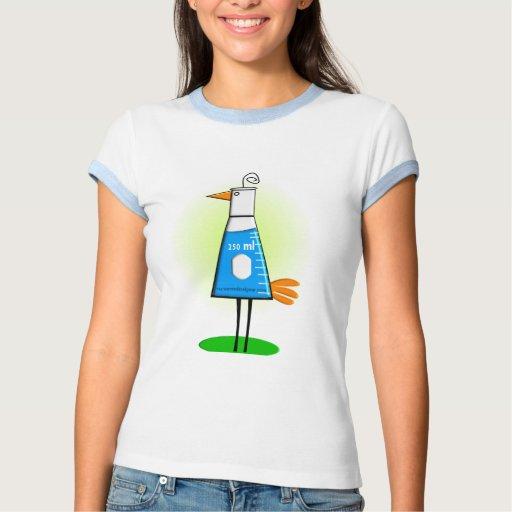 """Chemist """"Beeker Bird"""" Gifts T Shirt"""
