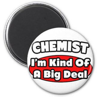 Chemist...Big Deal 2 Inch Round Magnet