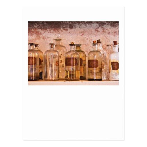 Chemist - Deadly Acid Postcard