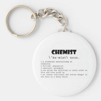 Chemist Definition Keychain