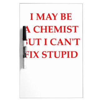CHEMIST Dry-Erase BOARD