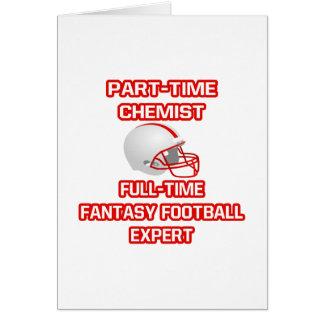 Chemist .. Fantasy Football Expert Greeting Cards