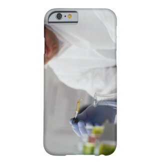 Chemist Measuring Drops into a Flask iPhone 6 Case