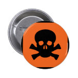 chemist skull sign button