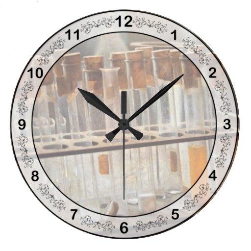 Chemist - Specimen Round Wall Clock