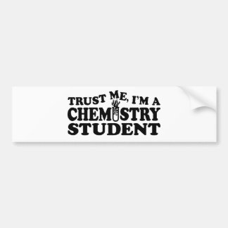 Chemist Student Bumper Sticker