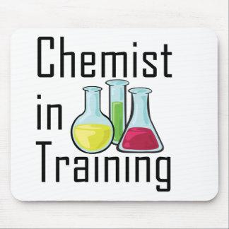 Chemist student chemistry kid mouse pad