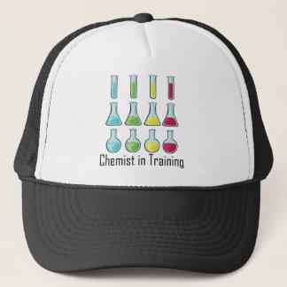 Chemist student chemistry kid trucker hat