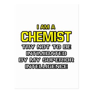 Chemist...Superior Intelligence Postcards