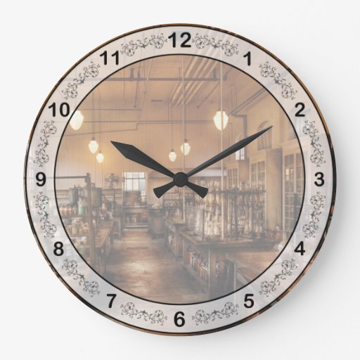 Chemist - The Chem Lab Wall Clocks