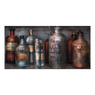 Chemist - Things that burn Photo Card