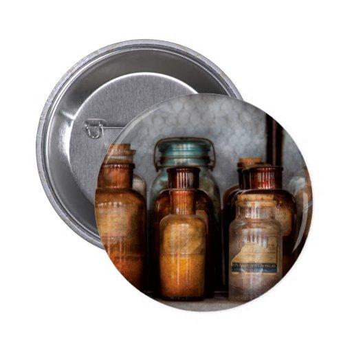 Chemist - Various Chemicals 2 Inch Round Button