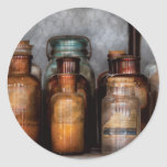 Chemist - Various Chemicals Classic Round Sticker
