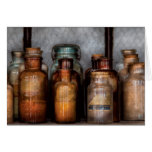 Chemist - Various Chemicals Greeting Card
