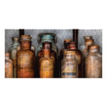 Chemist - Various Chemicals Personalized Photo Card