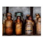 Chemist - Various Chemicals Postcard
