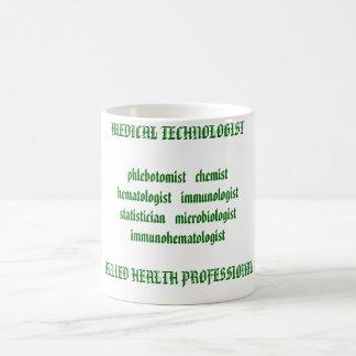 Chemisthemat MÉDICO del phlebotomist   del Taza De Café