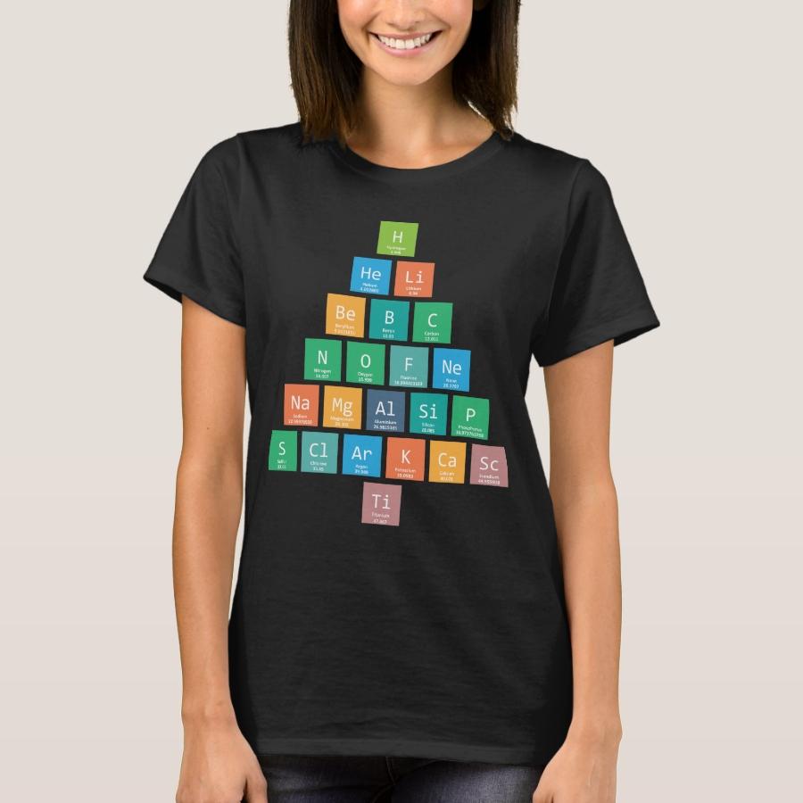 Chemistree Funny T Element Shirt - Best Selling Long-Sleeve Street Fashion Shirt Designs