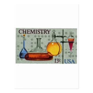 chemistry 03 postcard