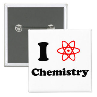 Chemistry 2 Inch Square Button