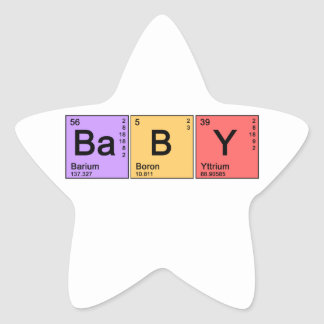 Chemistry Baby Sticker