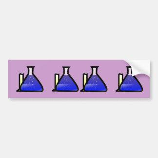 Chemistry Beakers Bumper Sticker