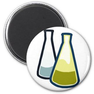 Chemistry Beakers Fridge Magnets