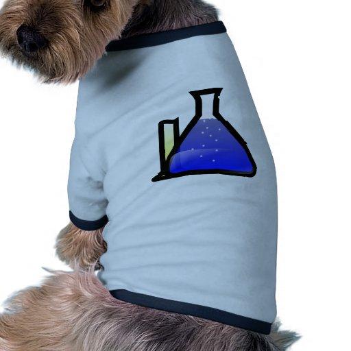 Chemistry Beakers Pet Tee Shirt