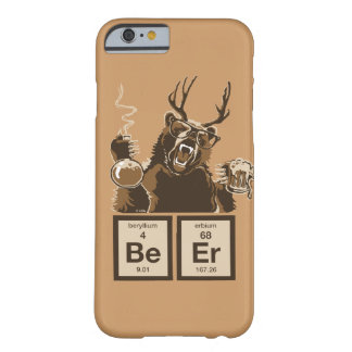 Chemistry bear discovered beer barely there iPhone 6 case