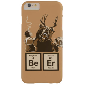 Chemistry bear discovered beer barely there iPhone 6 plus case