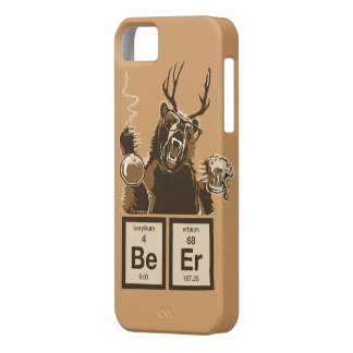 Chemistry bear discovered beer iPhone 5 case