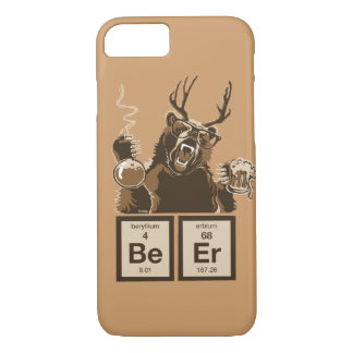Chemistry bear discovered beer iPhone 7 case