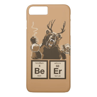 Chemistry bear discovered beer iPhone 7 plus case