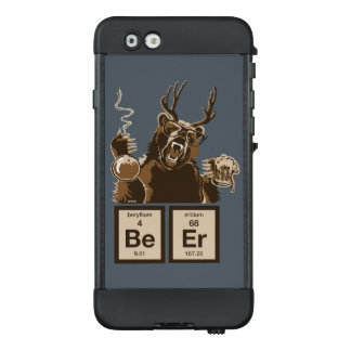 Chemistry bear discovered beer LifeProof® NÜÜD® iPhone 6 case